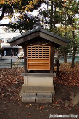 舎人氷川神社(足立区舎人)14