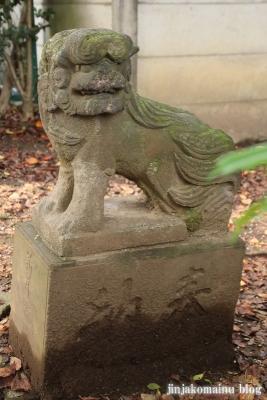 舎人氷川神社(足立区舎人)21