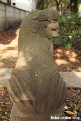 舎人氷川神社(足立区舎人)28