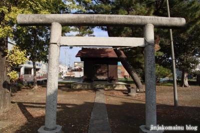 古千谷天祖神社(足立区古千谷本町)2