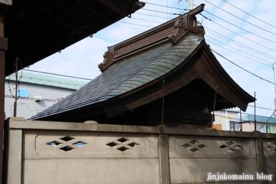 古千谷天祖神社(足立区古千谷本町)7