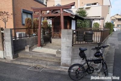 大西島八幡神社(足立区伊興)1