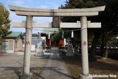 谷在家赤城神社(足立区谷在家)2