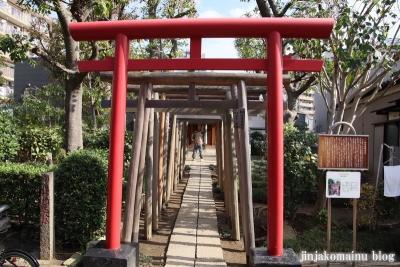 佐竹稲荷神社(足立区梅田)1
