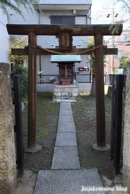 三十番上七面大明神社(足立区足立)2