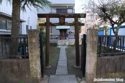 三十番上七面大明神社(足立区足立)1