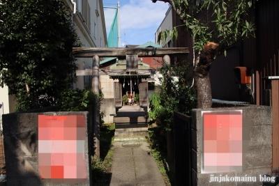 新道地守稲荷神社(足立区足立)1