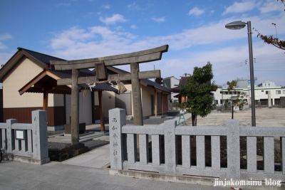 西加平神社(足立区西加平)1