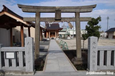 西加平神社(足立区西加平)2
