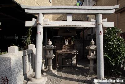 鈴野稲荷神社(足立区一ッ家)2