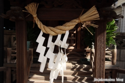鈴野稲荷神社(足立区一ッ家)5