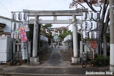 六木諏訪神社(足立区六木)1