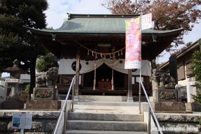 六木諏訪神社(足立区六木)5