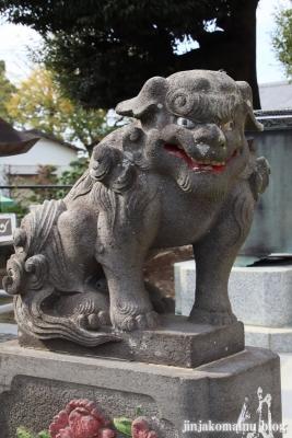 六木諏訪神社(足立区六木)15