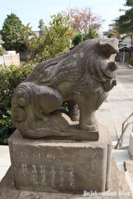 六木諏訪神社(足立区六木)12
