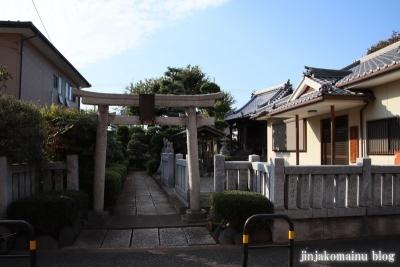 上谷中稲荷神社(足立区谷中)1