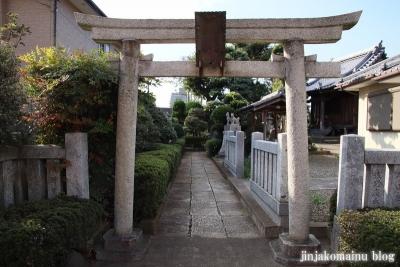 上谷中稲荷神社(足立区谷中)2