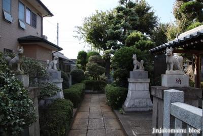 上谷中稲荷神社(足立区谷中)4