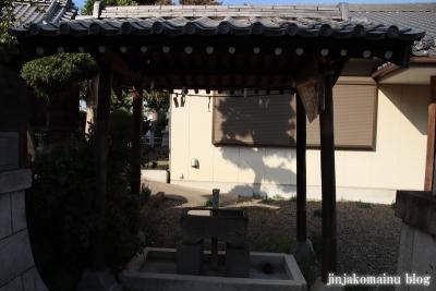上谷中稲荷神社(足立区谷中)5