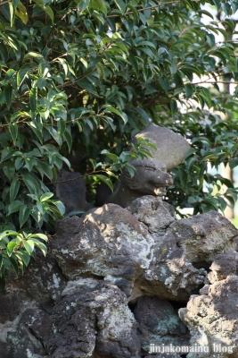 上谷中稲荷神社(足立区谷中)8
