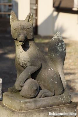 上谷中稲荷神社(足立区谷中)9