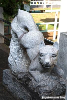 上谷中稲荷神社(足立区谷中)14