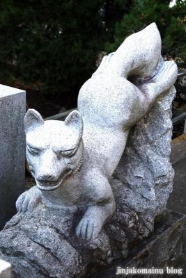 上谷中稲荷神社(足立区谷中)15