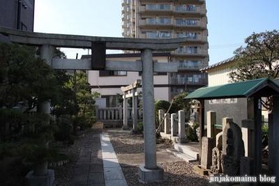 下谷中稲荷神社  (足立区谷中)1