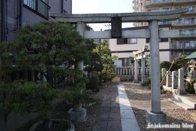 下谷中稲荷神社  (足立区谷中)2