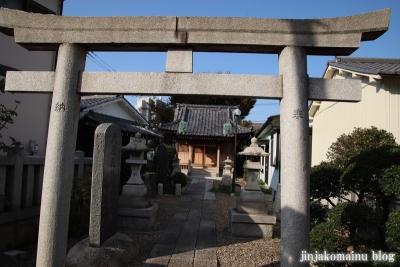 下谷中稲荷神社  (足立区谷中)4
