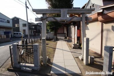 砂原稲荷神社(葛飾区西亀有)1