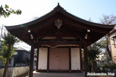 砂原稲荷神社(葛飾区西亀有)6