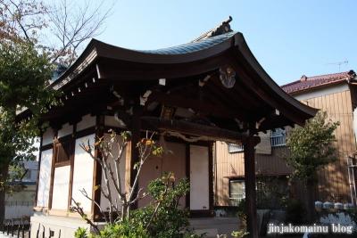 砂原稲荷神社(葛飾区西亀有)9