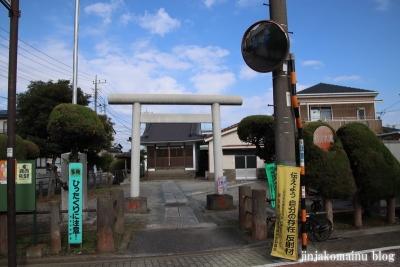 古内天祖神社(足立区鹿浜)1