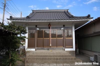 古内天祖神社(足立区鹿浜)4