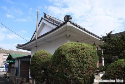 古内天祖神社(足立区鹿浜)5