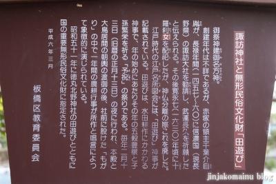 赤塚諏訪神社(板橋区大門)7