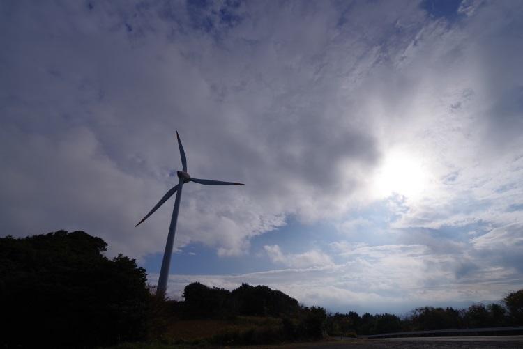 千畳敷風車