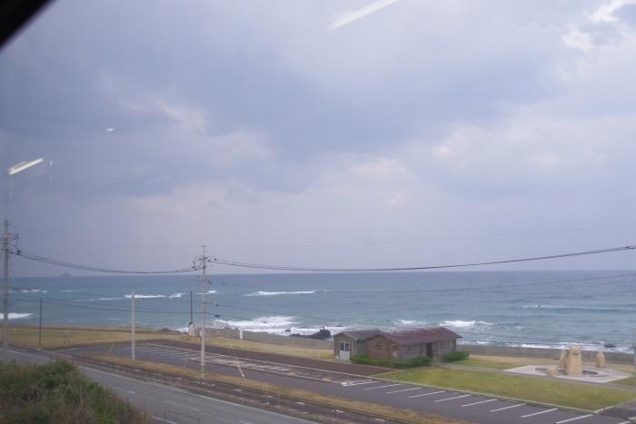 車窓から日本海①