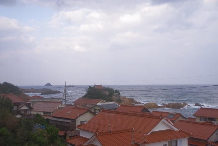 車窓から日本海③