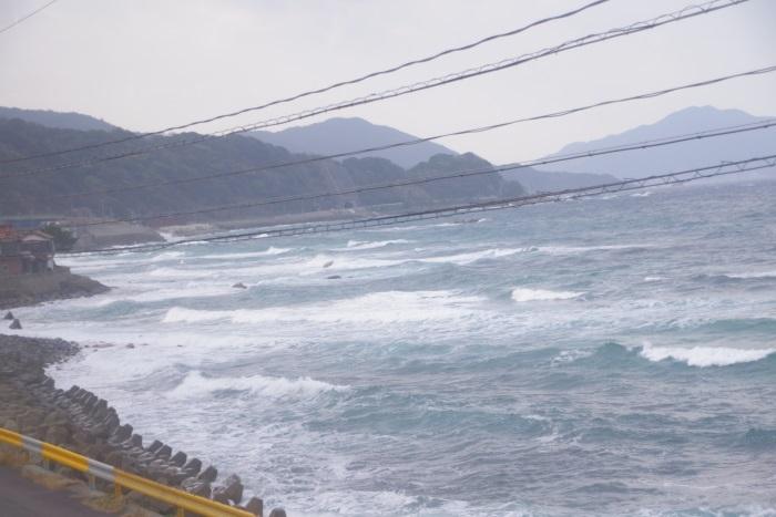 車窓から日本海④