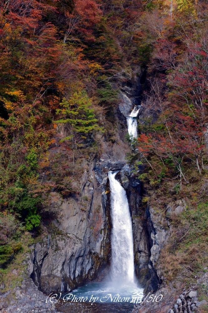 梅ヶ島温泉 赤水の滝SN