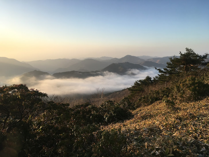 2018千町ヶ峰段ヶ峰/雲海