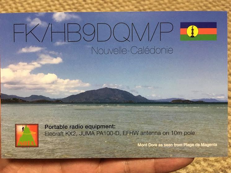 QSLカード/FKHB9表