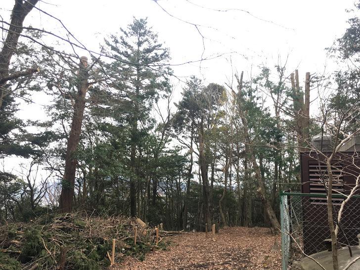 2019高代寺山/山頂の様子