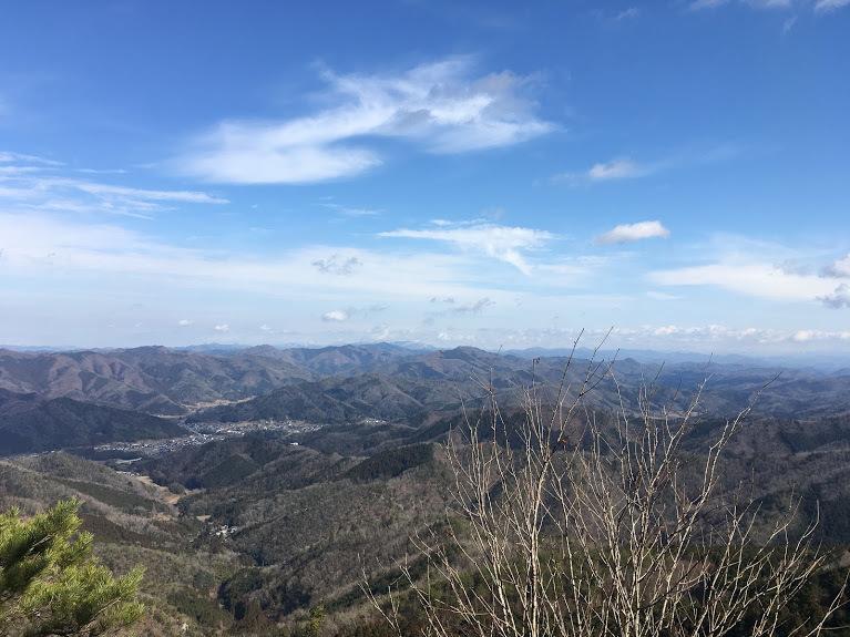 2019鹿倉山/烏帽子岩からの景色