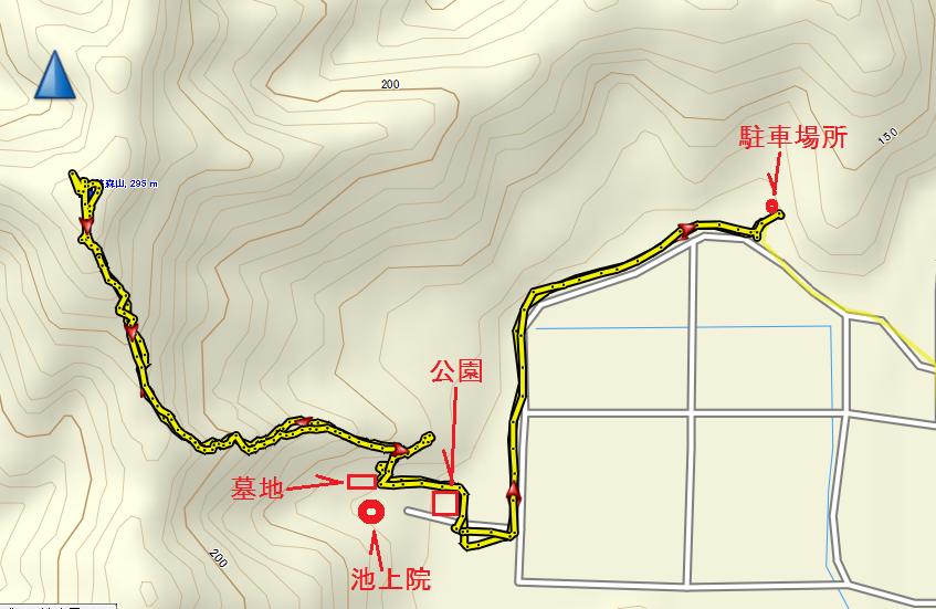 2019筏森山/地図