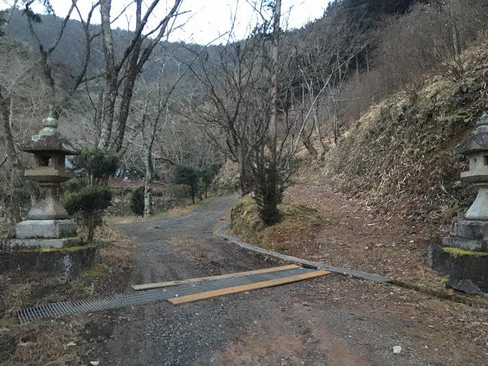 2019筏森山/登山口
