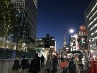 夕暮れの浜松町