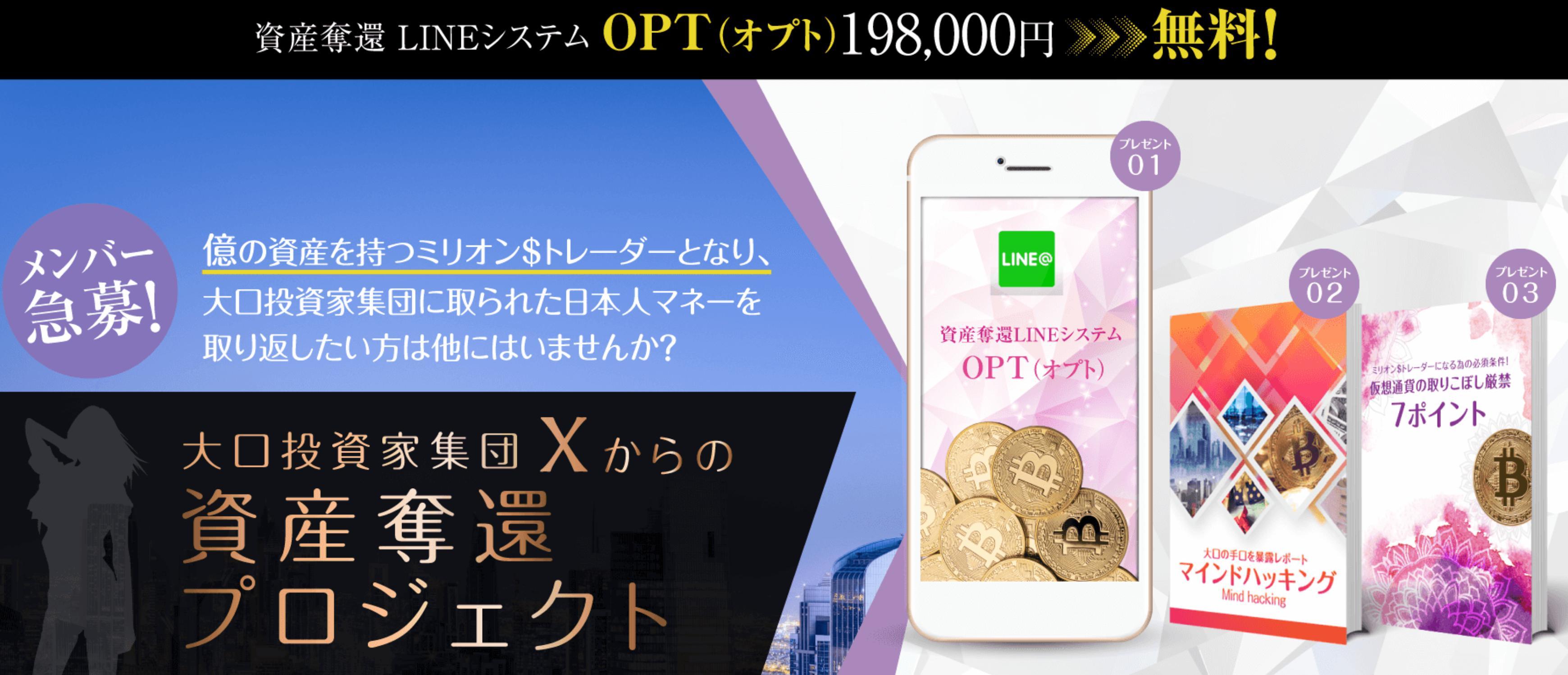 大沢麗子 OPT(オプト)レター
